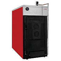 50 DLO  (Бобер) Котел твердопаливний стаціонарний чавунний , номінальна теплова потужність 35,0/39,0 кВт (дров