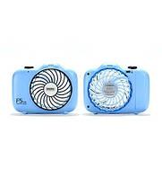 Настольный вентилятор Remax F5 Camera Mini Blue
