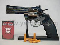 235 - Револьвер-зажигалка Python, 23см