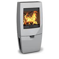 Чугунная печь Dovre Sense 400/E14 светло серая эмаль - 9 кВт