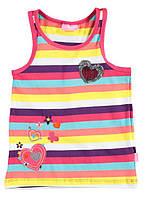 Майка для девочки LC Waikiki в разноцветные полоски