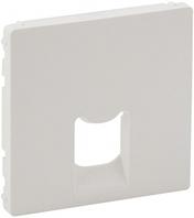 Лицевая панель телефонной / компьютерной RJ11/RJ45 розетки белая 755410 Legrand Valena Life
