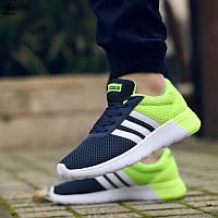 "Кроссовки Adidas NEO ""Dark Blue/Lime/White"""