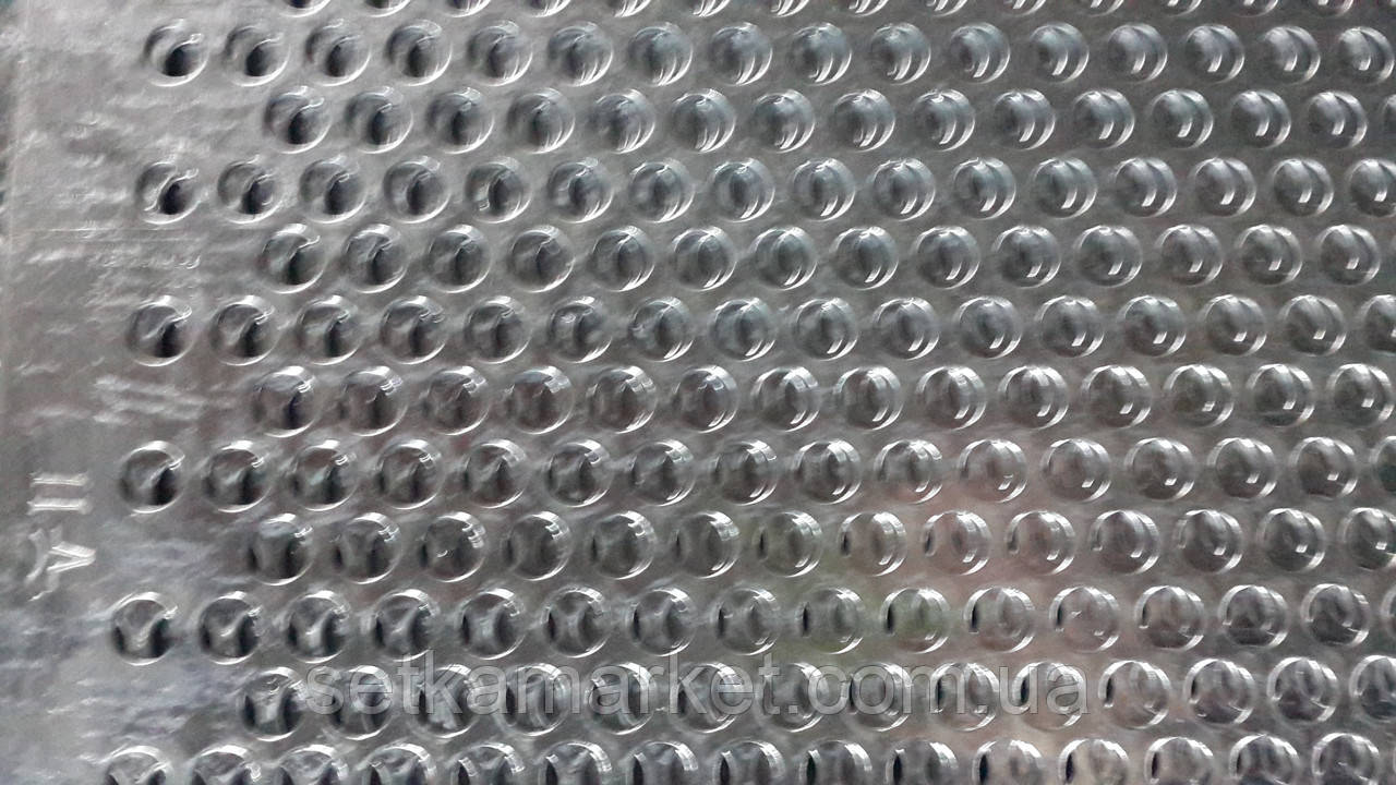 Решето (сито) ОВС-25, толщина 1.0 мм, ячейка 11 мм, оцинкованный металл