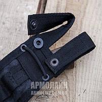 "Ножны ""HUNTER"" для ножа С ГАРДОЙ (A-TACS LE), фото 4"