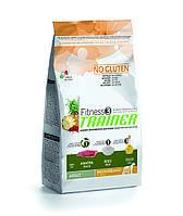Trainer Fitness3 Adult Medium & Maxi Duck корм для собак средних и крупных пород с уткой, 12.5 кг