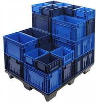 Складские пластиковые ящики-контейнеры KLT