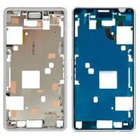 Рамка крепления дисплея для мобильного телефона Sony D5833 Xperia Z3 Compact Mini, белая