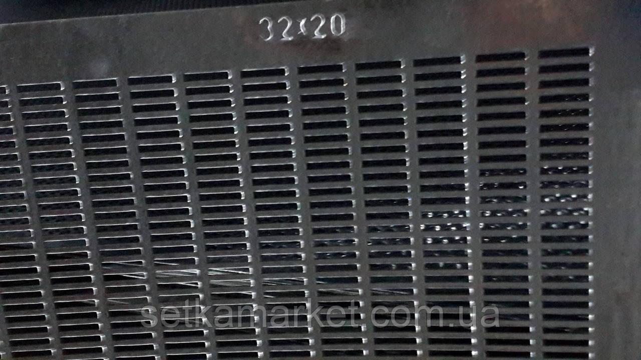 Решето (сито) ОВС-25, толщина 1.0 мм, ячейка 3.2х20 мм, оцинкованный металл