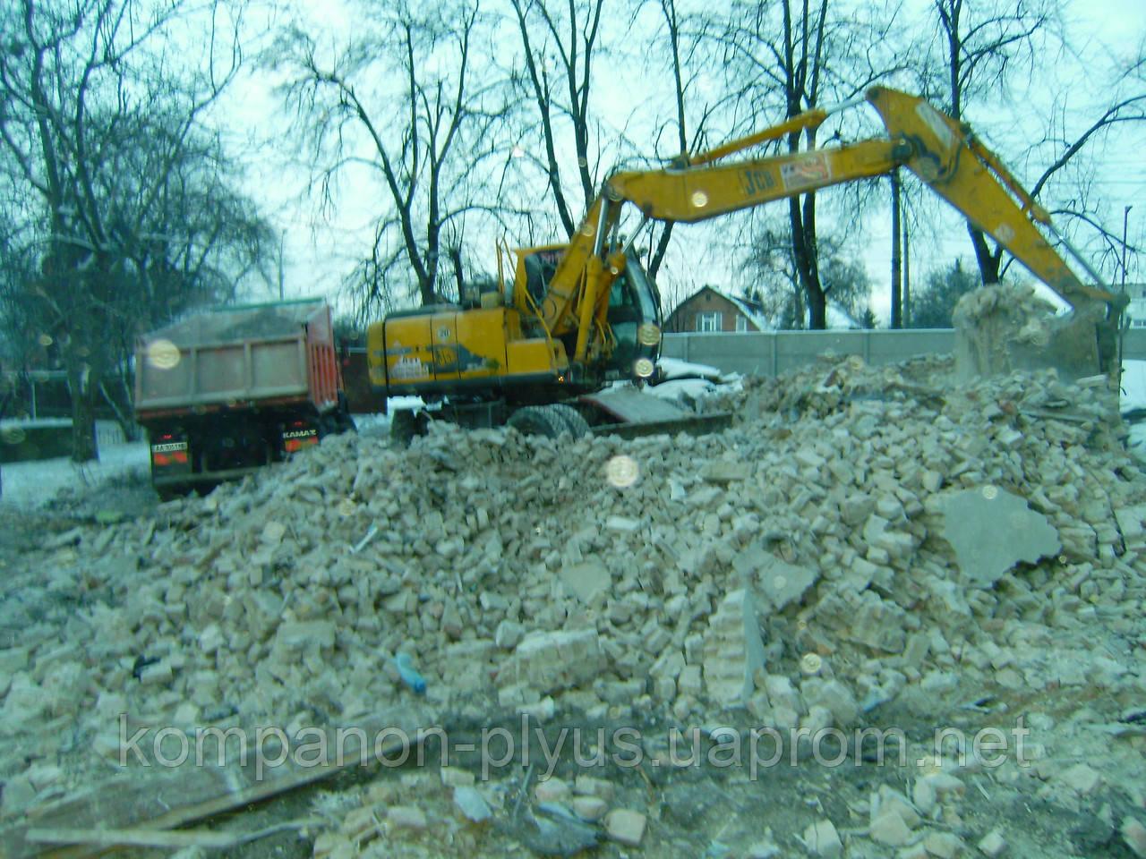 Продам строймусор, грунт на подсыпку. Строй мусор, строительный мусор, земля, глина, грунт самосвалами в Киеве