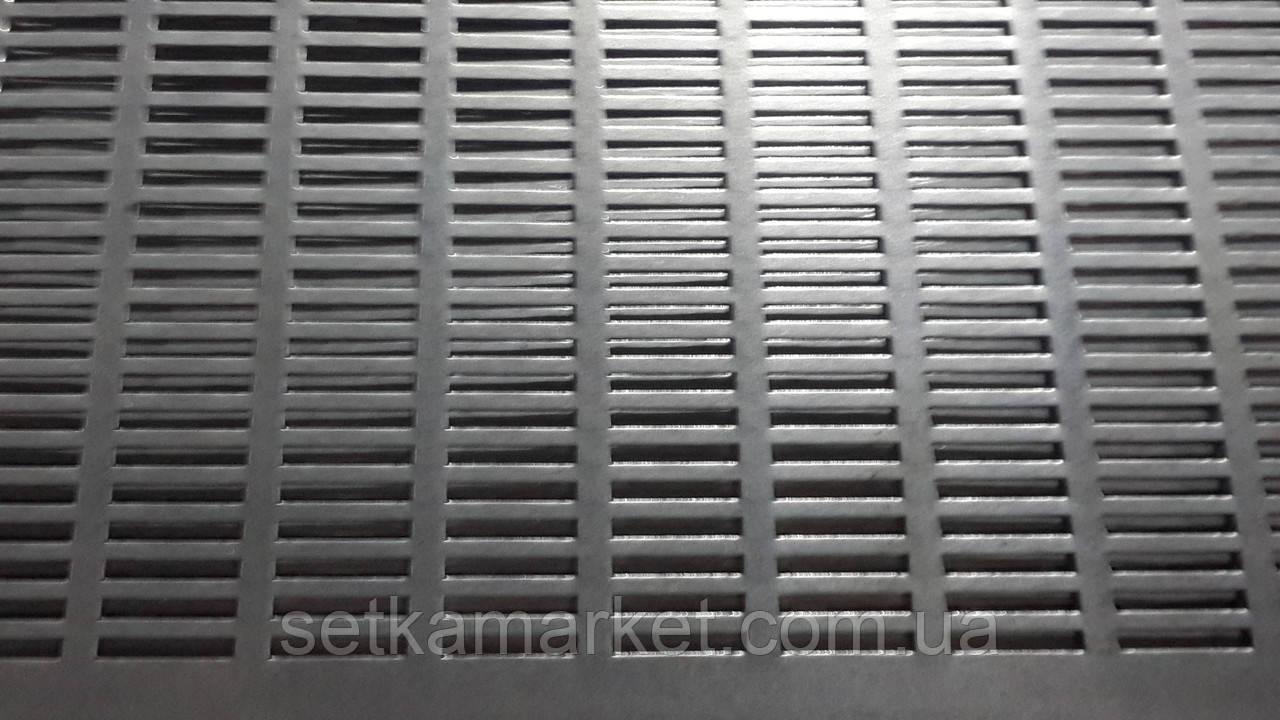 Решето (сито) ОВС-25, толщина 1.0 мм, ячейка 4х20 мм, оцинкованный металл
