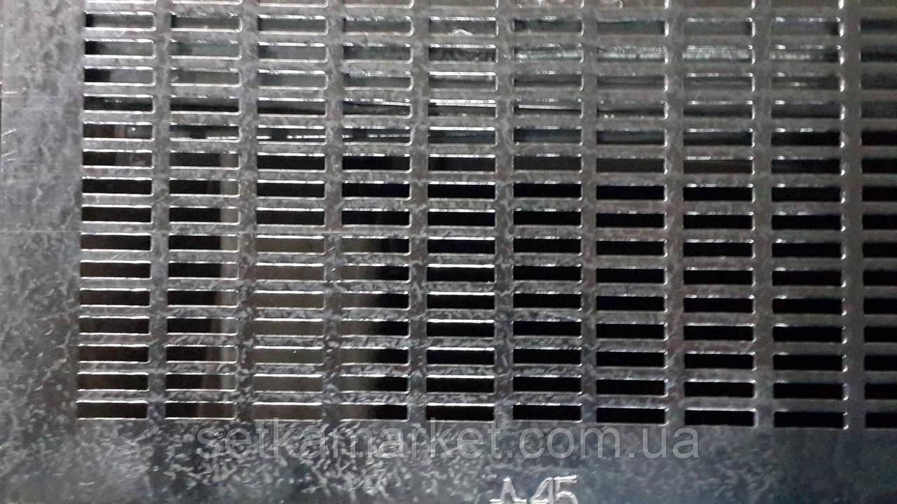 Решето (сито) ОВС-25, толщина 1.0 мм, ячейка 4.2х20 мм, оцинкованный металл