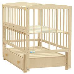 Детская кроватка Baby Sleep Aurora AKP-S-B Naturholz (натур)