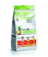 Trainer Fitness3 Adult Medium & Maxi Rabbit корм для собак средних и крупных пород с кроликом, 3 кг, фото 1