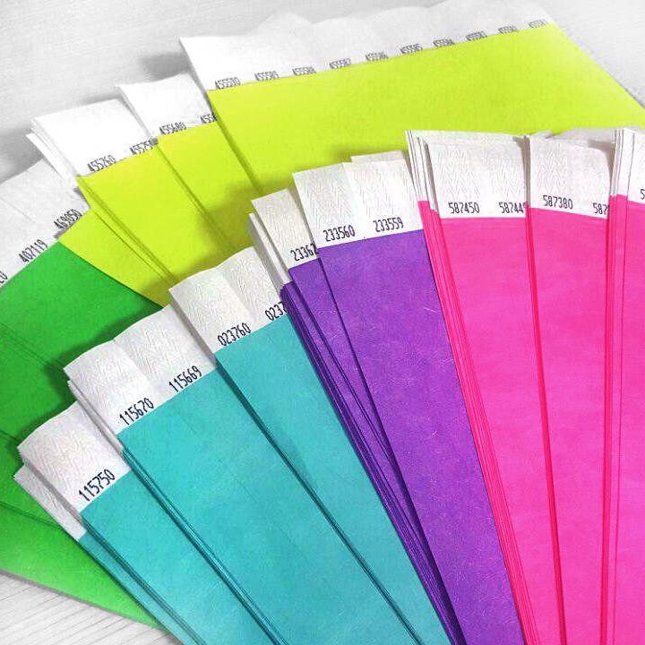 Бумажные контрольные браслеты tyvek мм до шт  Бумажные контрольные браслеты tyvek 3 4 19мм до 1000 шт
