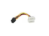 Кабель питания ATX 6pin M/F 0.3м, кабель для видеокарты, atx кабель