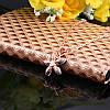 Женская подвеска кулон Цветок 18K позолота, цепочка 45 + 5 см., фото 4