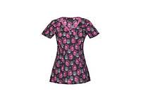 Женская медицинская футболка 20947-HOOS