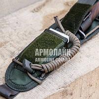 """Ножны """"HUNTER"""" для ножа С ГАРДОЙ (OLIVE), фото 4"""