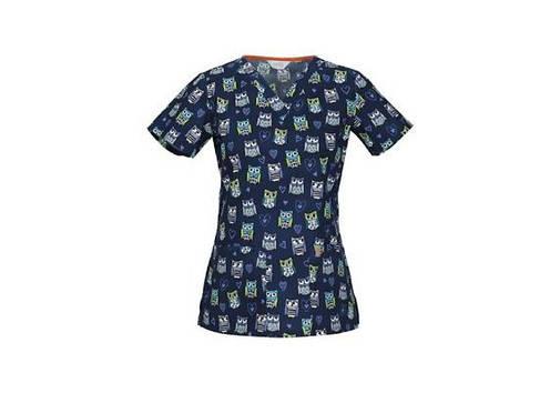 Женская медицинская футболка 46615CA-HOOY, фото 2