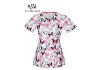 Женская медицинская футболка 46613A-POSF