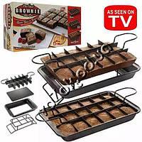 Форма для выпечки пирожных Perfect Brownie Pan Set