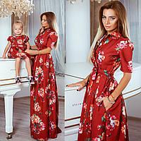 Family look платья мама и дочка
