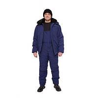 Костюм утепленный с меховым воротником, зимняя спецодежда, рабочая одежда утепленная