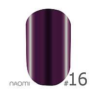 Гель лак Naomi 6 мл Metallic Collection M16