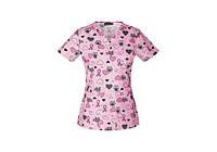 Женская медицинская футболка 42700C OATR
