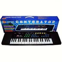 Детский пианино синтезатор с микрофоном  3738