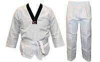 Добок кимоно для тхэквондо WTF UR DR-5473 (хлопок 65%, полиэстер 35%, р-р 30-42 (110-164см),240г на м2)