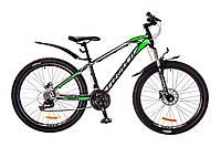 """Велосипед Formula Blaze Pro 26"""" AM 14G HDD рама-15"""" St 2017 (OPS-FR-26-161) черно-салатный"""