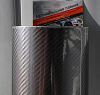 5D карбон: темно-серая пленка под лаком Scorpio Premium (1,52 м)