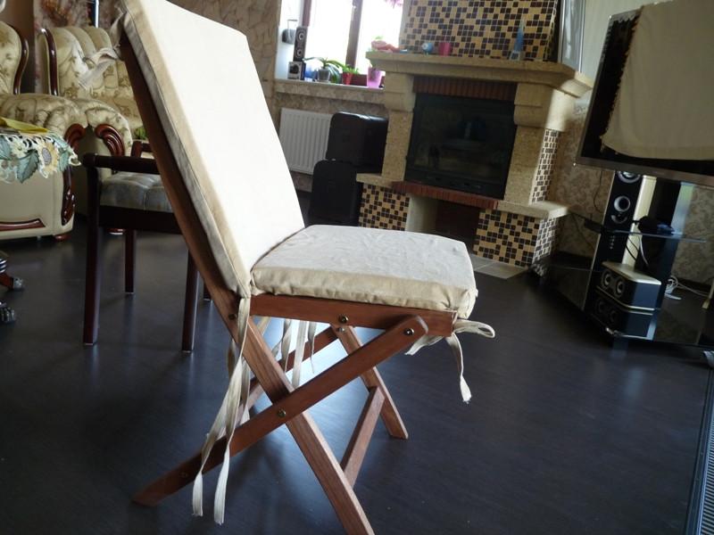 Квадратная мебельная подушка с завязками