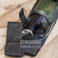 "Ножны ""HUNTER"" для ножа БЕЗ ГАРДЫ (OLIVE), фото 3"