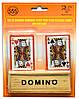 Домино с двумя колодами карт