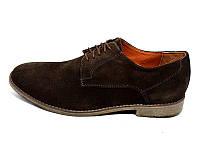Мужские туфли нат. кожа замш Van Kristi Collection 280 Brown Наличии размера: 41 42 43 44 45