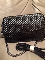 Стильная женская сумка-клатч натуральная кожа качество люкс. В комплекте длинный ремешок