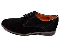 Мужские туфли нат.кожа замш Van Kristi Collection 280 Black Наличии размера: 40 41 42 43 44 45