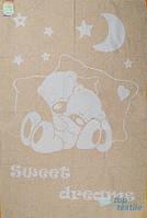 Детское жаккардовое одеяло для новорожденных (байковое)