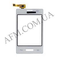 Сенсор (Touch screen) LG E425 Optimus L3 II Dual белый