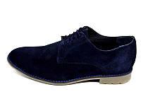 Мужские туфли нат. кожа замш Van Kristi Collection 280 Blue Наличии размера: 41 42 43 44 45