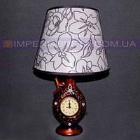 Лампа настольная в декоративном стиле светильник одноламповый KODE:540236