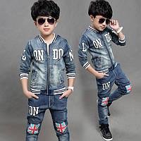 """Модный джинсовый костюм на мальчика """"Лондон"""""""