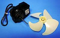 Двигатель (мотор) вентилятора с крыльчаткой для холодильника Indesit Индезит Ariston Аристон 283664, C00283664
