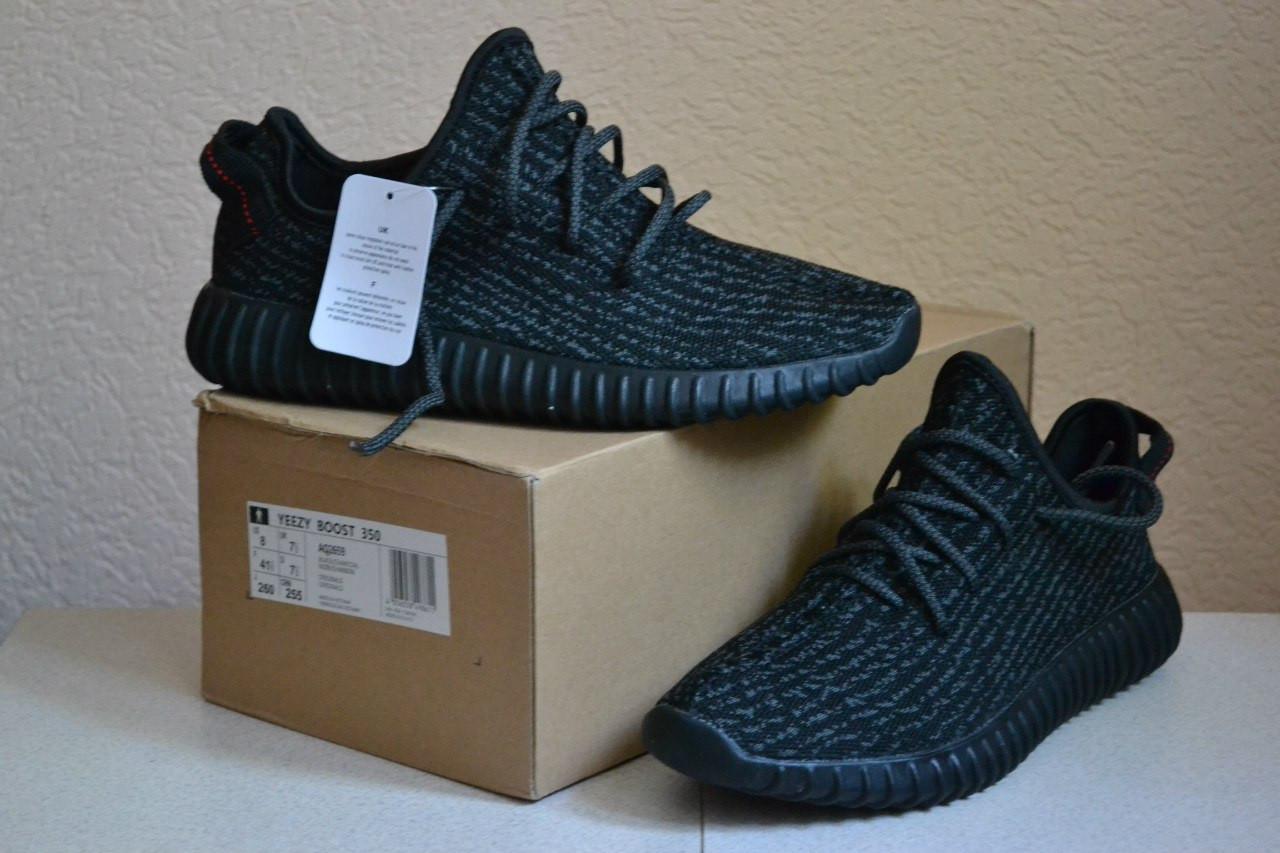 8f4e3939a9f2 Кроссовки Adidas yeezy boost 350 Black(ТОП РЕПЛИКА ААА+), цена 1 072 ...