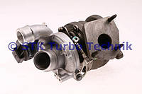 Турбина левая сторона/Турбокомпрессор - 5439 988 0112, LR021044 Land-Rover Range Rover 3.6 TDV8 Sport