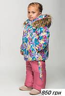 Стильный и теплый зимний комбинезон для девочек
