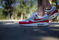 Кроссовки мужские Nike Air Max 87 Grey Red